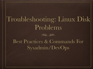 Tips to Solve Linux & Unix Systems Hard Disk Problems